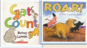 Counting Children's Book Lot - Free Shipping