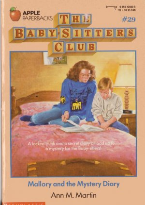 4 Baby-Sitters Club Children's Book Lot #22,26,29,32