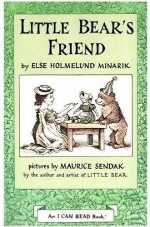 Little Bear's Friend and Little Bear 2 Book Lot by Else Holmelund Minarik
