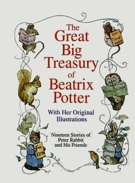 GREAT BIG TREASURY OF BEATRIX POTTER (Hardcover)