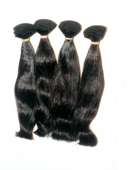 Virgin Remy Indian hair- straight 16 Inches