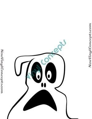 Little Ghost Halloween Style #2 Decal Sticker