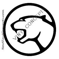 FORD COUGAR AUTO Decal Sticker