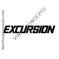 FORD EXCURSION AUTO Decal Sticker
