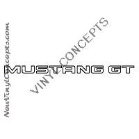 FORD MUSTANG GT AUTO Decal Sticker