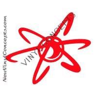 Jimmy Neutron Cartoon Logo Decal Sticker