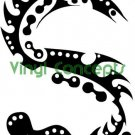 Crazy Tribal Art Style #3 Decal Sticker