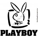 Playboy Play Boy TV Logo #2 Decal Sticker