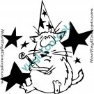 Funny Cat Feline Style #2 Decal Sticker
