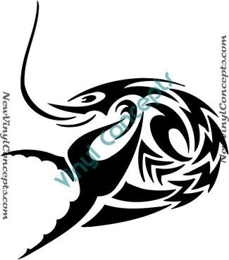Zodiac Astrological Sign Symbol Tribal #1 Decal Sticker