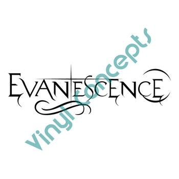Evanescence Band Music Artist Logo Decal Sticker