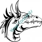 Dragon Head Style #2 (Fantasy & Science Fiction) Decal Sticker