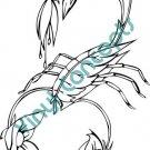 Scorpio #2 Zodiac Astrological Sign Symbol Decal Sticker
