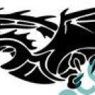 Dragon Horizontal Style#2 (Fantasy & Science Fiction) Decal Sticker