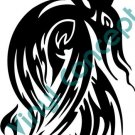 Line Dragon Style#2 (Fantasy & Science Fiction) Decal Sticker