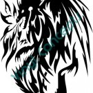 Line Dragon Style#1 (Fantasy & Science Fiction) Decal Sticker
