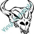 Skull #1 (Fantasy & Science Fiction) Decal Sticker