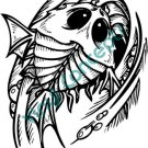 Water Monster #1 (Fantasy & Science Fiction) Decal Sticker