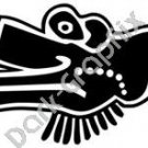 Ehecati Wind Aztec Ancient Logo Symbol (Decal - Sticker)