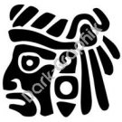 Face 3 Meso Deko Ancient Logo Symbol (Decal - Sticker)