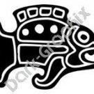 Fish Meso Deko Ancient Logo Symbol (Decal - Sticker)