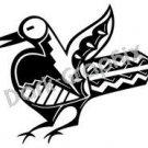 Bird Southwest Ancient Logo Symbol (Decal - Sticker)