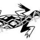 Lizard Southwest Ancient Logo Symbol (Decal - Sticker)