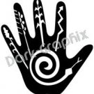 Petroglyph Southwest Ancient Logo Symbol (Decal - Sticker)