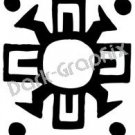 Southwest 3 Ancient Logo Symbol (Decal - Sticker)