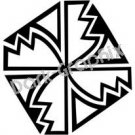 Southwest 5 Ancient Logo Symbol (Decal - Sticker)