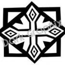 Southwest 8 Ancient Logo Symbol (Decal - Sticker)