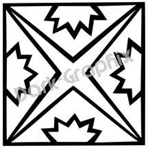 Southwest 13 Ancient Logo Symbol (Decal - Sticker)