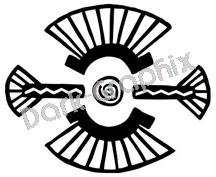 Southwest 20 Ancient Logo Symbol (Decal - Sticker)