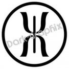 Jupitors staff Astronomy Logo Symbol (Decal - Sticker)