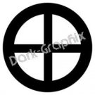 Earth Planet Astronomy Logo Symbol (Decal - Sticker)