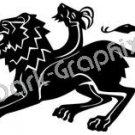 Chimera Mythical Fantasy Logo Symbol (Decal - Sticker)