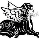 Sphinx Mythical Fantasy Logo Symbol (Decal - Sticker)