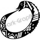 Uroboros Mythical Fantasy Logo Symbol (Decal - Sticker)