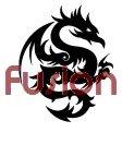 Tribal Dragon Style 3 (Decal - Sticker)