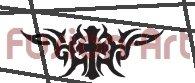 Tribal Tattoo Design Element Style 5 (Decal - Sticker)