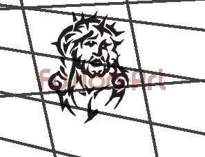 Tribal Tattoo Design Element Style 24 (Decal - Sticker)