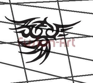Tribal Tattoo Design Element Style 30 (Decal - Sticker)