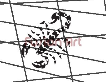 Tribal Tattoo Design Element Style 31 (Decal - Sticker)