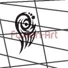 Tribal Tattoo Design Element Style 33 (Decal - Sticker)