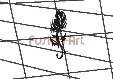 Tribal Tattoo Design Element Style 36 (Decal - Sticker)