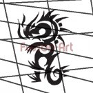 Tribal Tattoo Design Element Style 41 (Decal - Sticker)