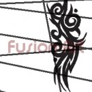 Tribal Tattoo Design Element Style 50 (Decal - Sticker)