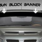 WINDSHIELD BANNER SUN BLOCKER DECAL STICKER VINYL TOYOTA FORD | 5 x 50inch Max