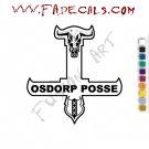 Osdorp Posse Band Music Artist Logo Decal Sticker