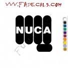 Nuca Band Music Artist Logo Decal Sticker